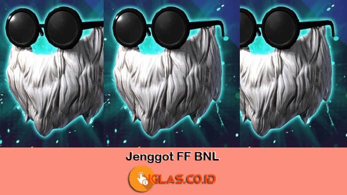 Jenggot FF BNL, Polosan Jenggot FF & Download Mentahan Jenggot FF