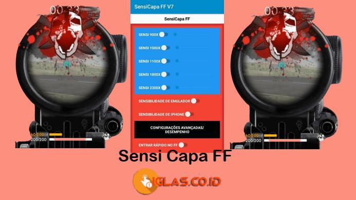 Sensi Capa FF Apk Download, Aplikasi Sensitivitas Free Fire Terbaik !