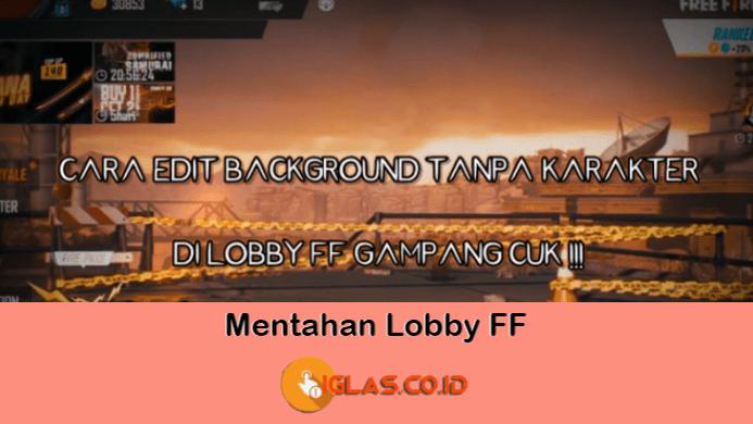 Mentahan Lobby FF Kosong / Polosan Video Jedag-Jedug Free Fire Viral !