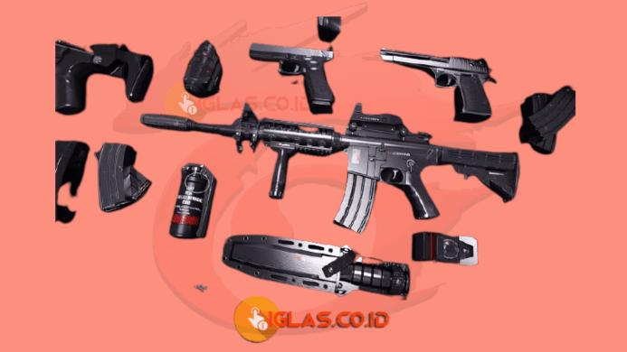 Submachine gun FF