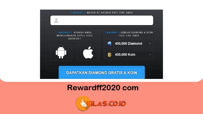 Rewardff2021 com & Freefireluckydraw com 2021 Situs Resmi Garena ?