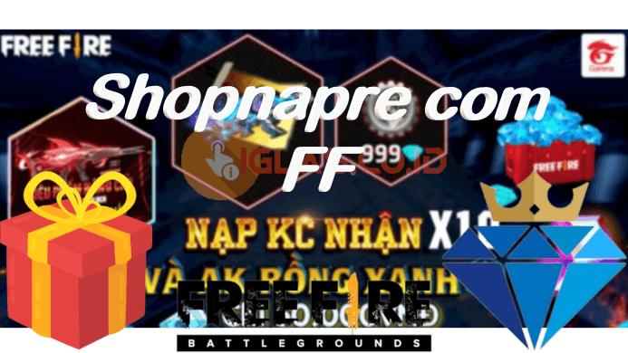 Shopnapre com FF, Benarkan ada Diamond FF Gratis & Skin FF Terbaru ?