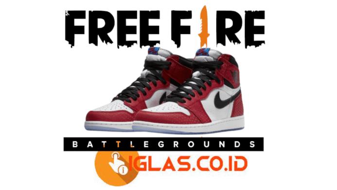 Sepatu Jordan FF Gratis Menggunakan Config Sepatu Jordan Free Fire !