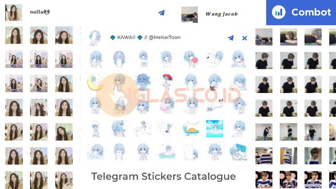 Combot.org Stickers Whatsaapp, Ternyata hanya untuk Aplikasi Telegram !
