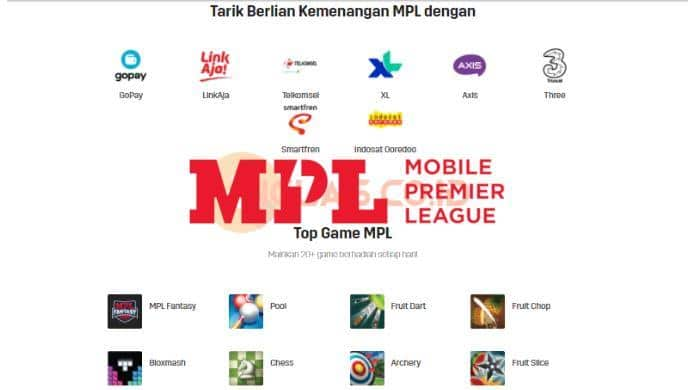 id.mpl.live Apk Download Aplikasi MPL Penghasil Uang hanya Main Game