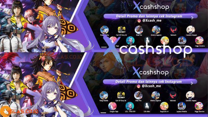 Xcashshop DM ML Jasa Joki & Top Up Diamond Mobile Legends Murah !