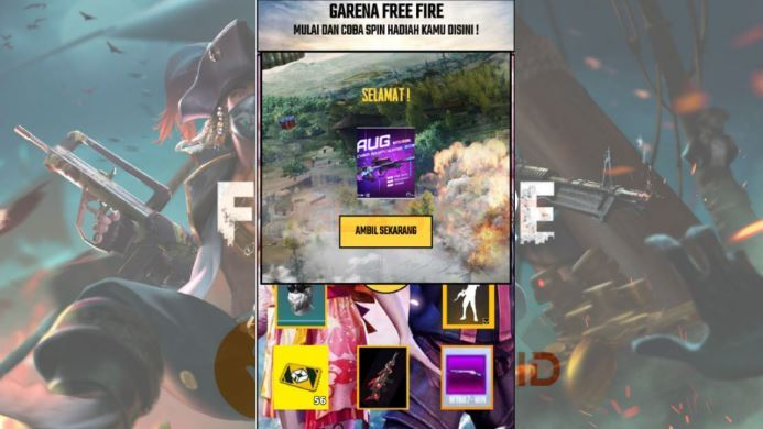EventFF 2021.com Claim Diamond, Skin & Lucky Spin Free Fire Gratis