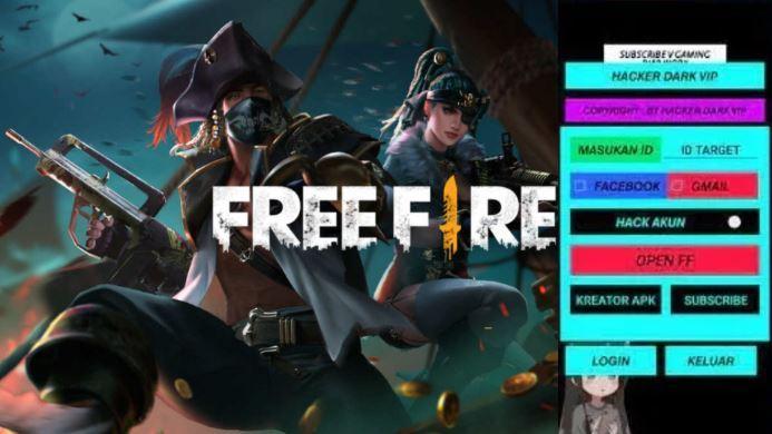 Hacker Dark VIP Apk Download Mod Menu FF / Free Fire Terbaru 2021