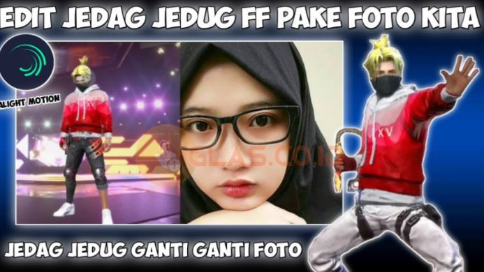 Jedag Jedug FF Preset AM Warna Warni, Kelap Kelip & Ganti Ganti Foto