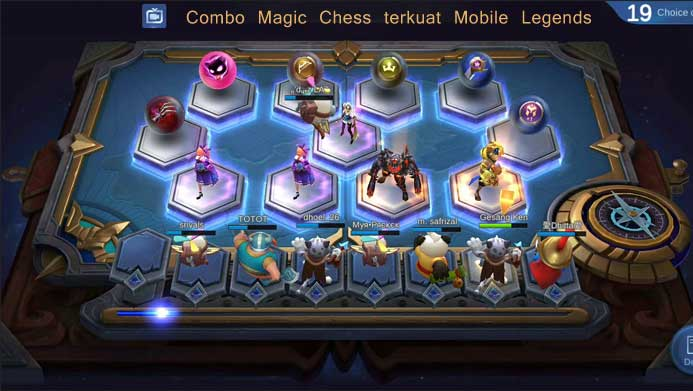 Combo Magic Chess terkuat Mobile Legends