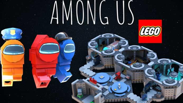 Cara Main Lego Among Us Apk