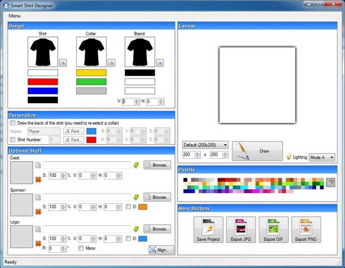 Aplikasi Desain Baju di PC