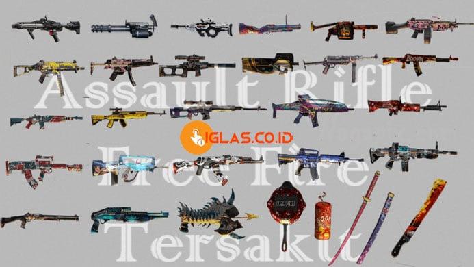 Assault Rifle Free Fire Terbaik