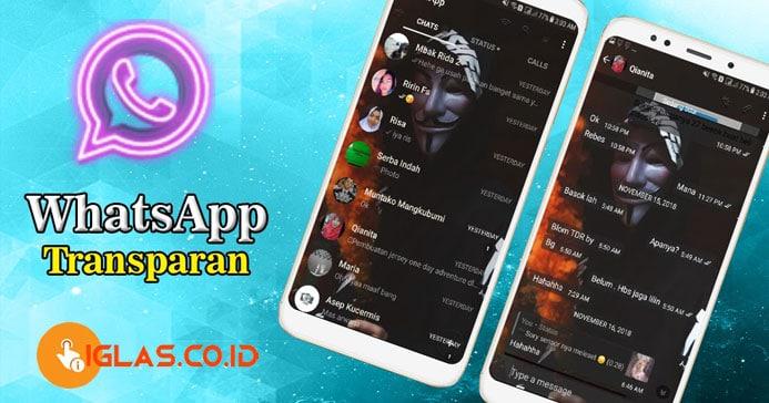 Aplikasi WA Transparan Android